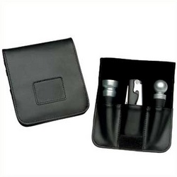 Wine Accessory Leather Valet