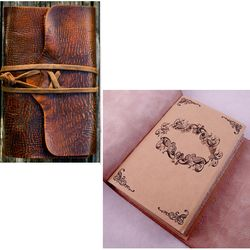 """The Nomad"" Distressed Travel Journal"