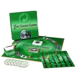 The Green Game Ecofriendly Board Game