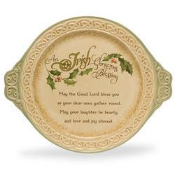Irish Christmas Blessing Platter
