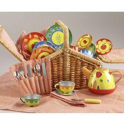 Children's Fruity Tin Tea Set for 4