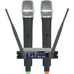 Dual Channel Wireless Microphone System