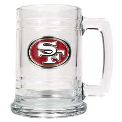 San Francisco 49ers Personalized Medallion Mug