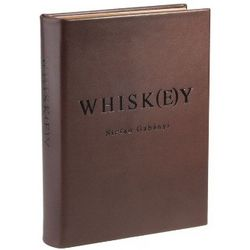 Whisk(e)y Leather Bound Book