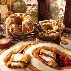 Christmas Holiday Kringle and Breakfast Cakes