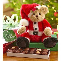 Bearington Santa Beary Bear and Chocolate Box Set