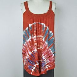Whispy Tie Dye Tank Top