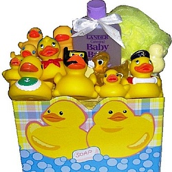 The Rubber Ducky Gift Basket