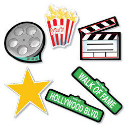 Movie Icons Super Pack Hanging Wall Cutouts