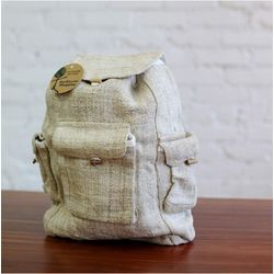 Hemp and Canvas Backpack
