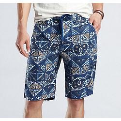 Printed Baja Shorts