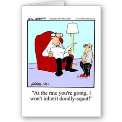 Funny Card for Father