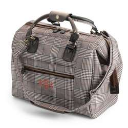 Plaid Travel City Bag