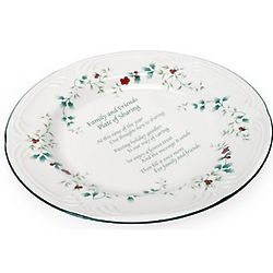 Winterberry Family and Friends Plate