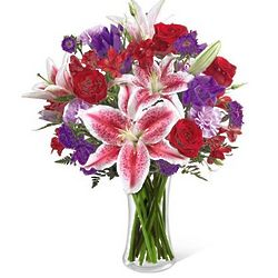 Stunning Beauty Flower Bouquet Deluxe