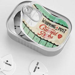 Antique Guitar Pick Tin