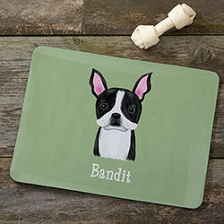 Top Dog Breeds Personalized Meal Mat