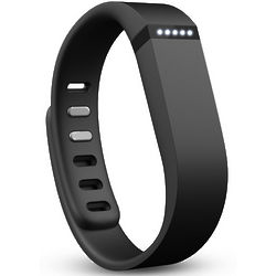 Black Flex Wireless Activity & Sleep Wristband for Smart Devices