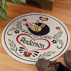 Personalized Hex Sign Doormat