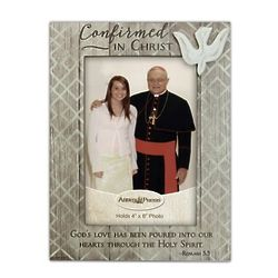 Confirmed in Christ Rustic Picture Frame