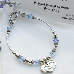 Friendship Toggle Bracelet with Scripture Card