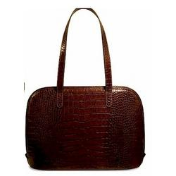Italian Croco Business Tote