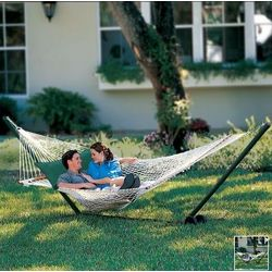 Two-Person Pawleys Island Oversized Rope Hammock