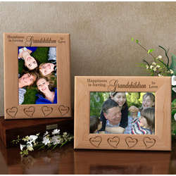 Personalized Happiness Is You Wooden Picture Frame