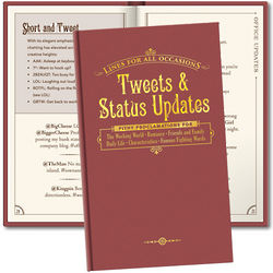 Tweets & Status Updates Book