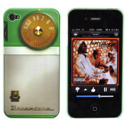 Apple iPhone 4 Retro Radio Snap-On Case