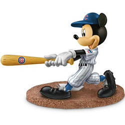Chicago Cubs Mickey Mouse Figurine