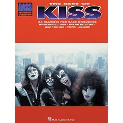 The Best Of Kiss Bass Guitar Tab Songbook