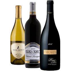 Sonoma Wine Tasting Trio