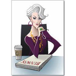 Miranda Priestly Funny Birthday Card