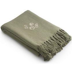 Sage Bamboo Blanket