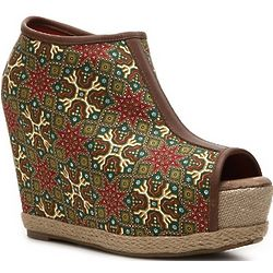 Yasha Wedge Booties