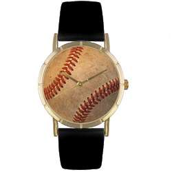 Baseball Lover Print Watch