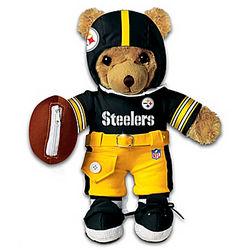 Pittsburgh Steelers Interactive Coaching Teddy Bear