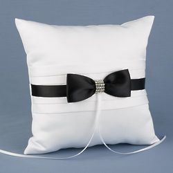 Refined Romance Ring Pillow