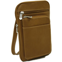 Leather Hanging Travel Document Organizer