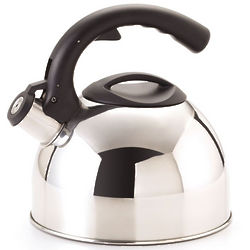 3 Quart Mirror Finish Whistle Tea Kettle