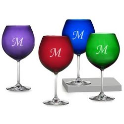 Personalized Waterford Marquis Jewel Wine Glasses