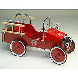 1938 Jalopy Pedal Car Fire Truck