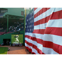 Photograph at Fenway Park, Ted Williams Memorial