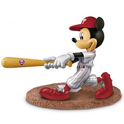 Philadelphia Phillies Disney Mickey Mouse Batter Figurine