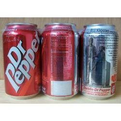 Original Dublin Dr Pepper Cans