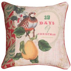 12 Days Of Christmas Word Pillow