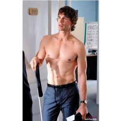 Covert Affairs Shirtless Auggie Poster