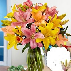 Birthday Lilies Bouquet