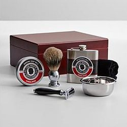 Men's Soap Shop Grooming Set in Humidor